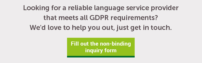 The General Data Protection Regulation (GDPR) and